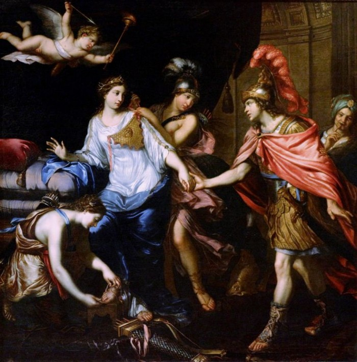 Meet Alexander and Queen of the Amazons Thalestris _ Pierre Mignard